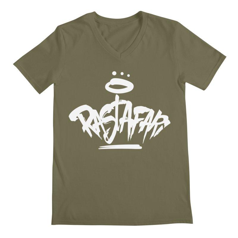 Rastafari (Light) Men's Regular V-Neck by Rasta University Shop