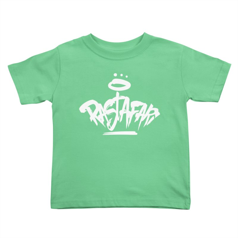 Rastafari (Light) Kids Toddler T-Shirt by Rasta University Shop