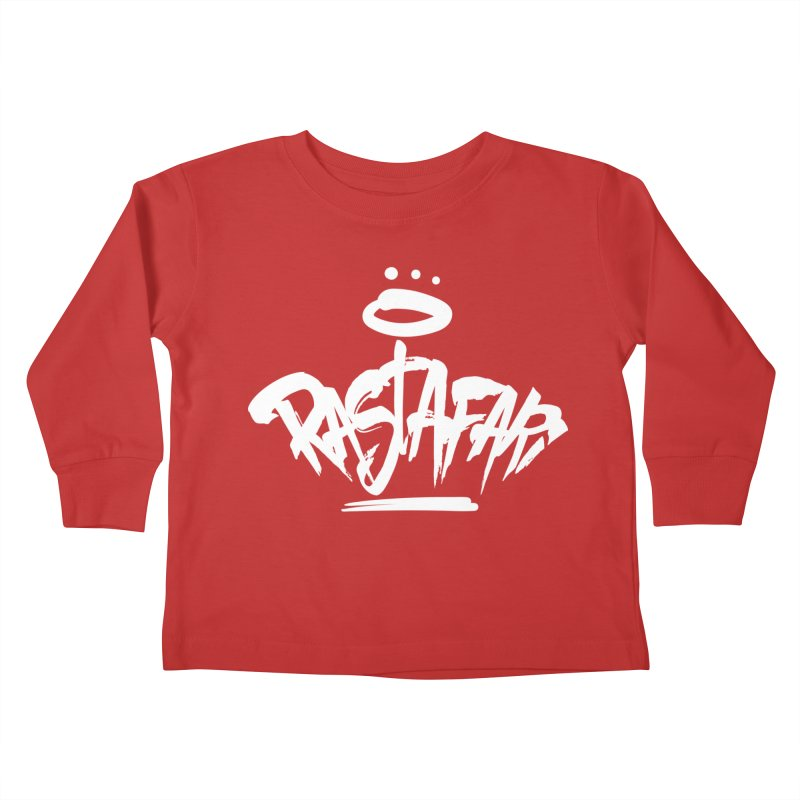 Rastafari (Light) Kids Toddler Longsleeve T-Shirt by Rasta University Shop