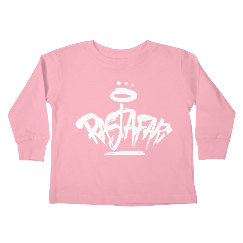 Rastafari (Light) Kids Toddler Longsleeve T-Shirt by Rasta University Shop