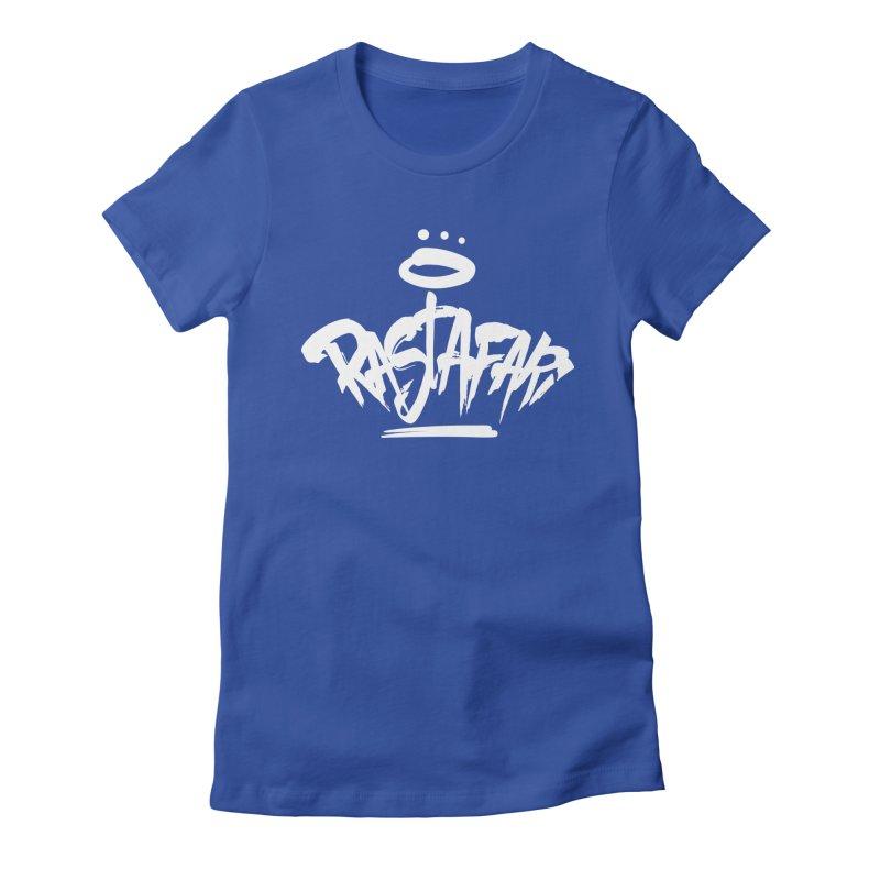 Rastafari (Light) Women's Fitted T-Shirt by Rasta University Shop