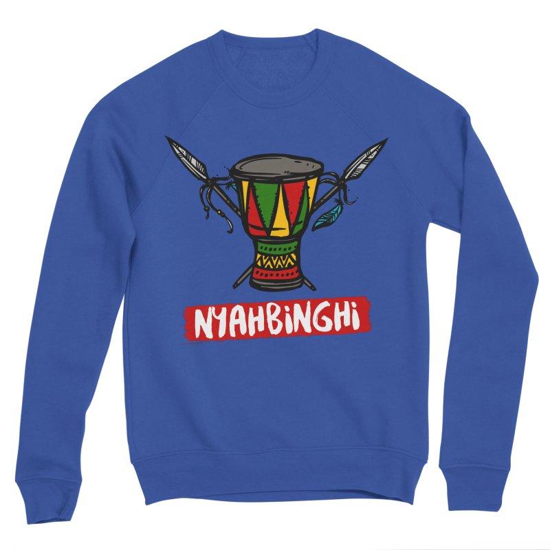 Rasta Nyabinghi Drum Men's Sweatshirt by Rasta University Shop