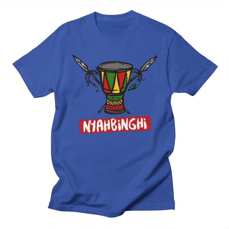 Rasta Nyabinghi Drum Women's Regular Unisex T-Shirt by Rasta University Shop