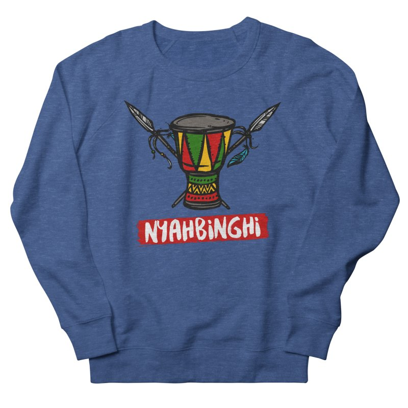 Rasta Nyabinghi Drum Women's French Terry Sweatshirt by Rasta University Shop