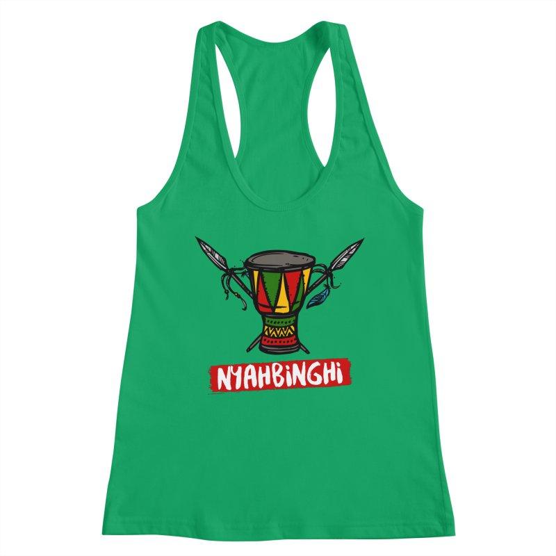 Rasta Nyabinghi Drum Women's Tank by Rasta University Shop