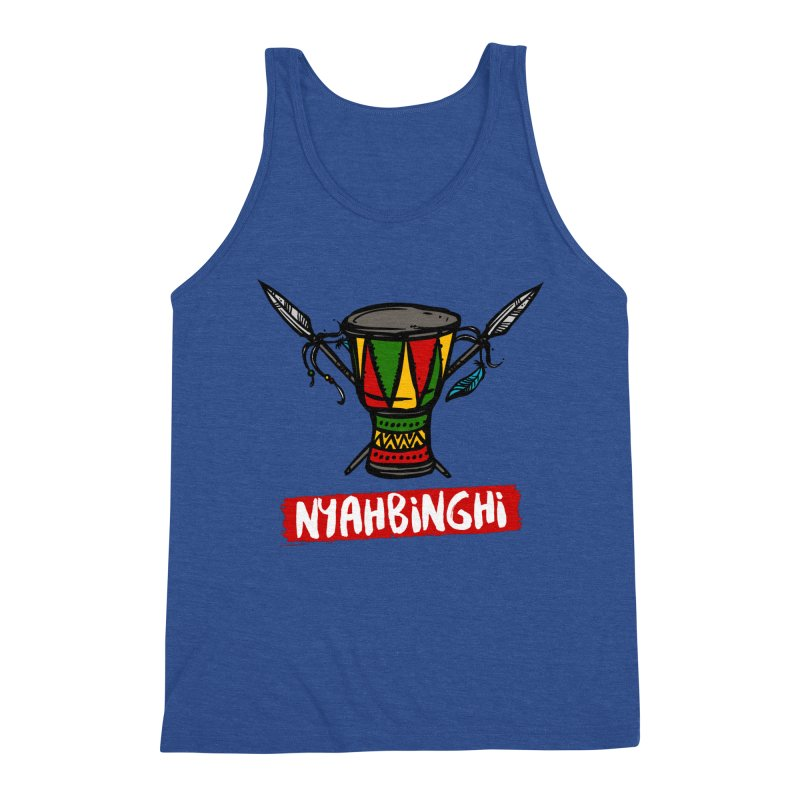 Rasta Nyabinghi Drum Men's Tank by Rasta University Shop