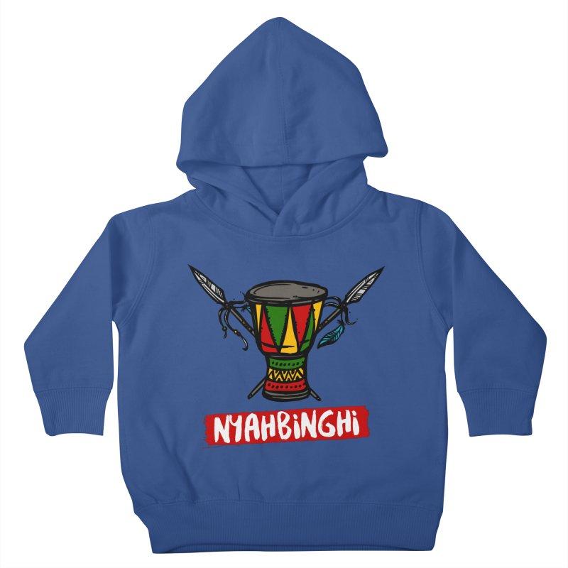 Rasta Nyabinghi Drum Kids Toddler Pullover Hoody by Rasta University Shop