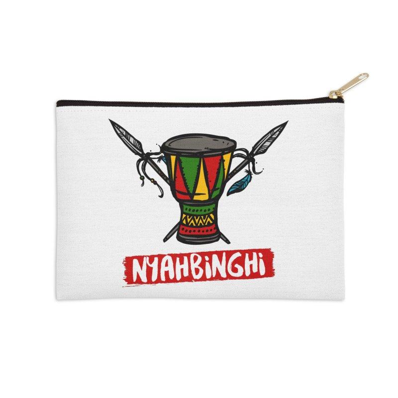 Rasta Nyabinghi Drum Accessories Zip Pouch by Rasta University Shop