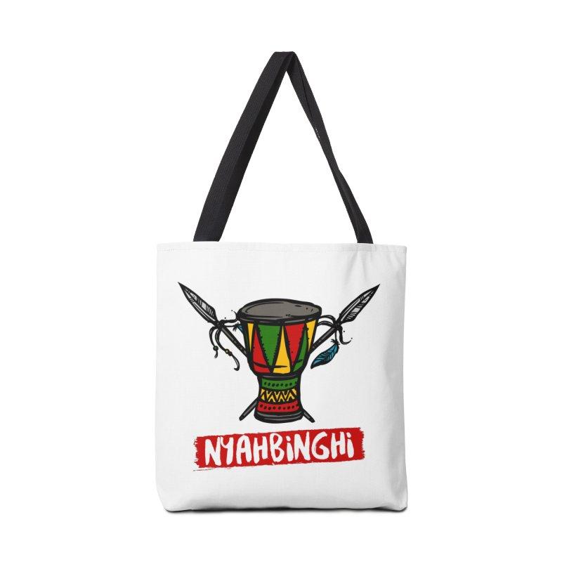 Rasta Nyabinghi Drum Accessories Tote Bag Bag by Rasta University Shop