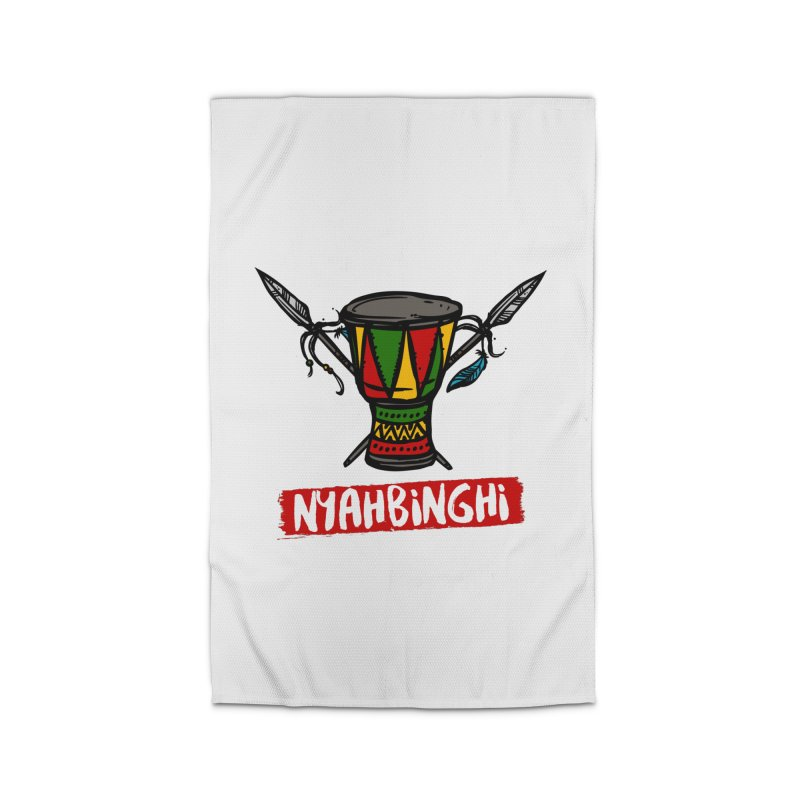 Rasta Nyabinghi Drum Home Rug by Rasta University Shop