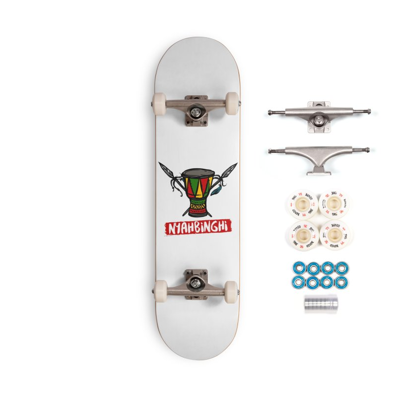 Rasta Nyabinghi Drum Accessories Complete - Premium Skateboard by Rasta University Shop