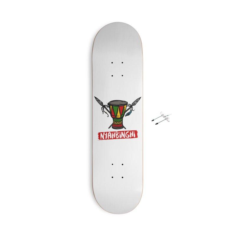 Rasta Nyabinghi Drum Accessories Skateboard by Rasta University Shop