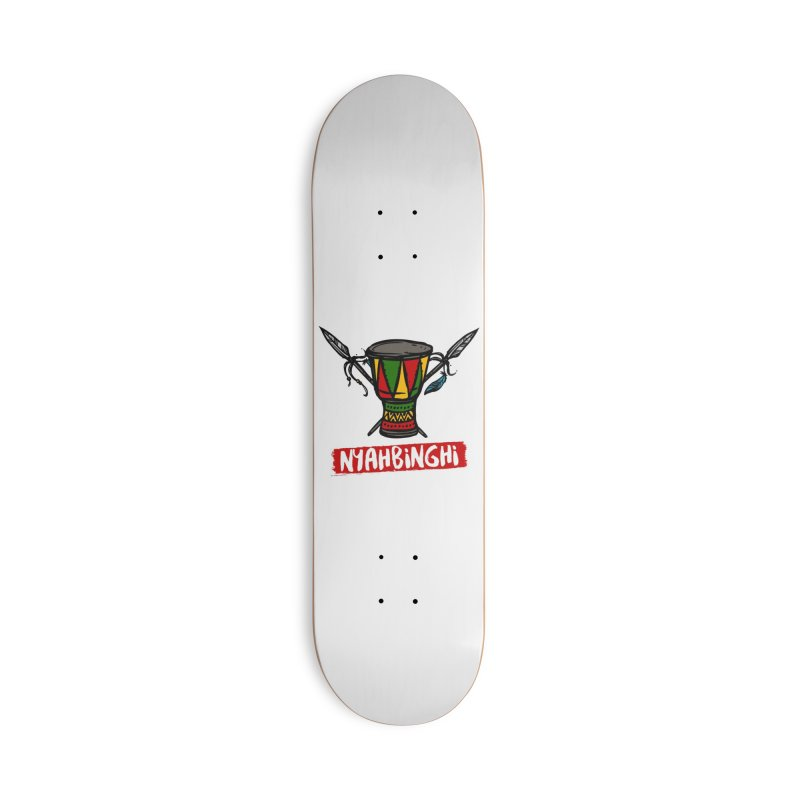 Rasta Nyabinghi Drum Accessories Skateboard by Rasta University Shop
