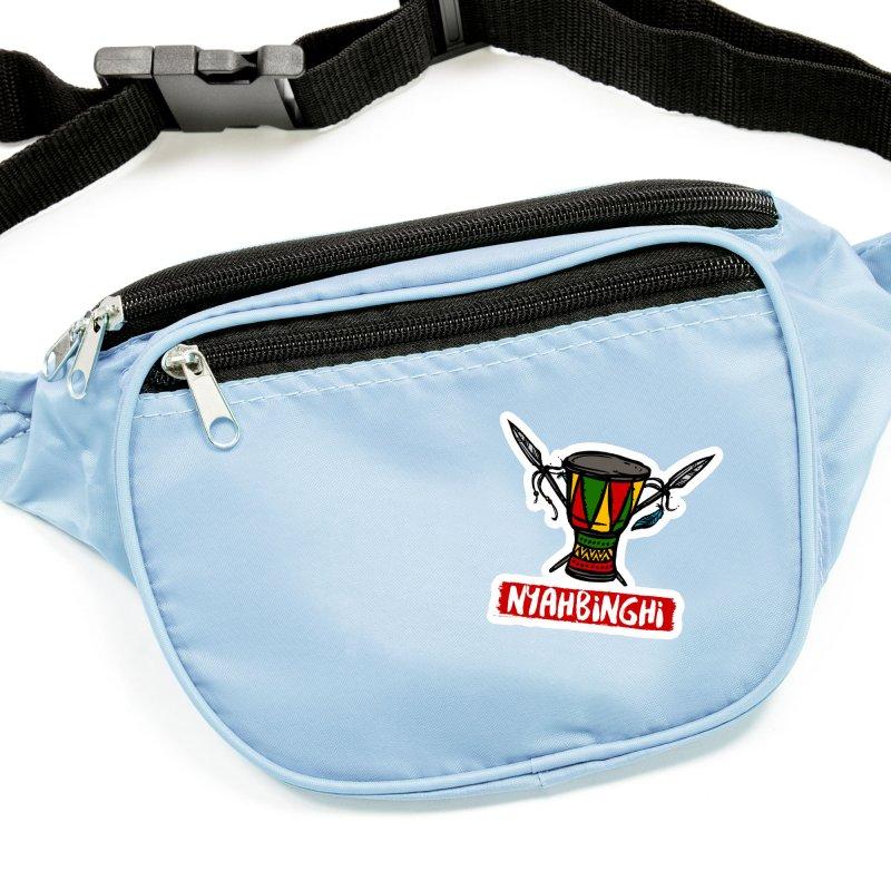 Rasta Nyabinghi Drum Accessories Sticker by Rasta University Shop