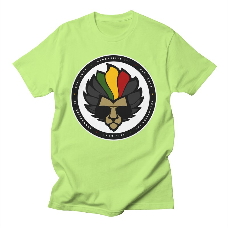 Reggaelize it! Logo Men's T-Shirt by Rasta University Shop