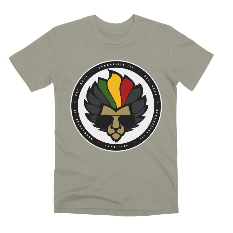 Reggaelize it! Logo Men's Premium T-Shirt by Rasta University Shop