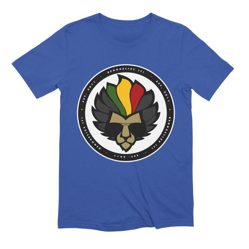 Reggaelize it! Logo Men's Extra Soft T-Shirt by Rasta University Shop