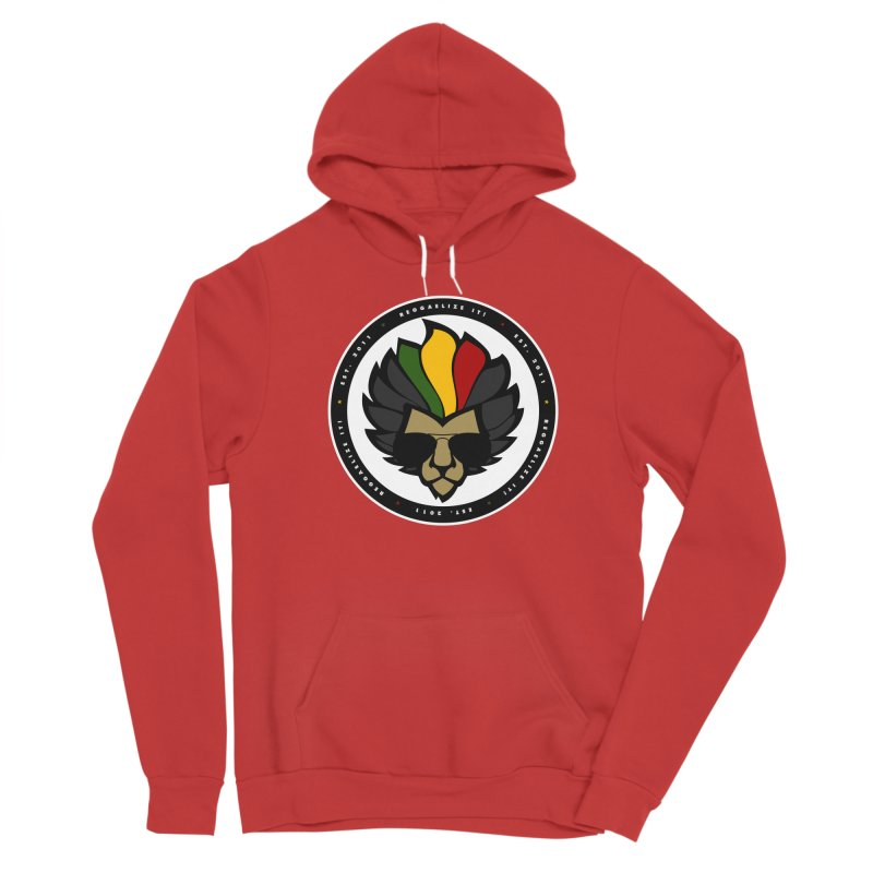 Reggaelize it! Logo Men's Pullover Hoody by Rasta University Shop