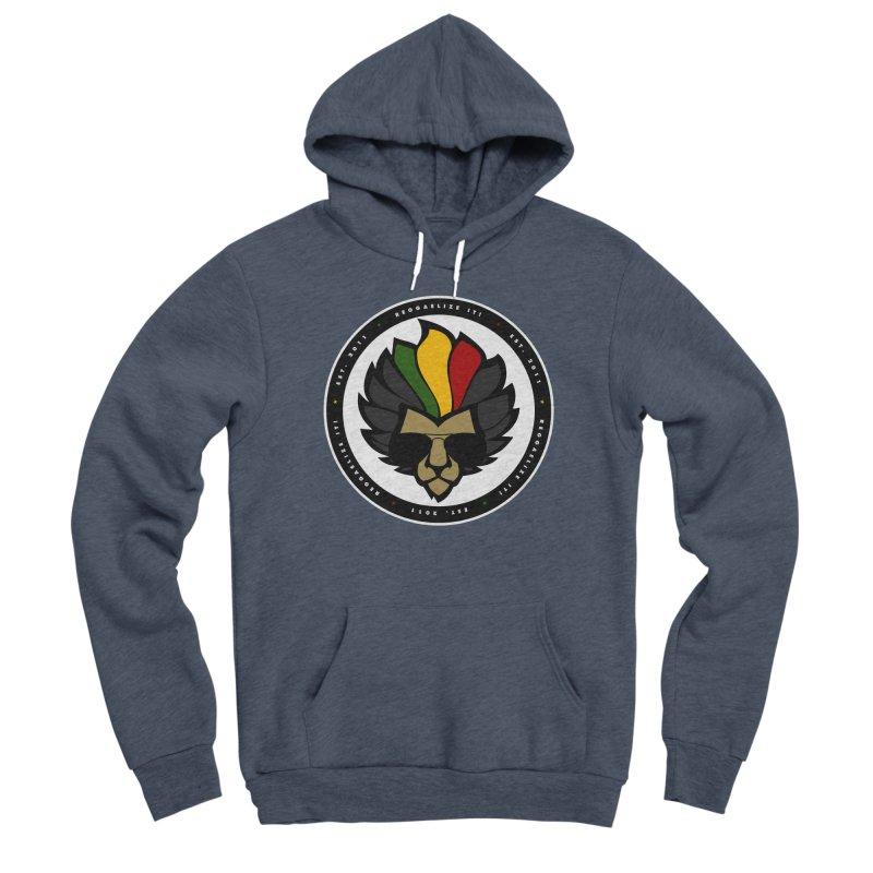Reggaelize it! Logo Men's Sponge Fleece Pullover Hoody by Rasta University Shop