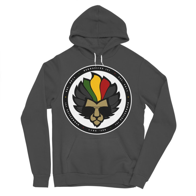 Reggaelize it! Logo Men's Sponge Fleece Pullover Hoody by Rasta University Shop