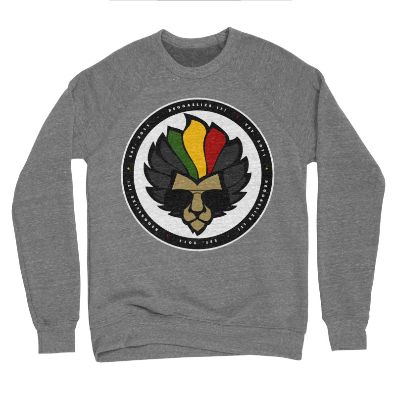 Reggaelize it! Logo Men's Sweatshirt by Rasta University Shop