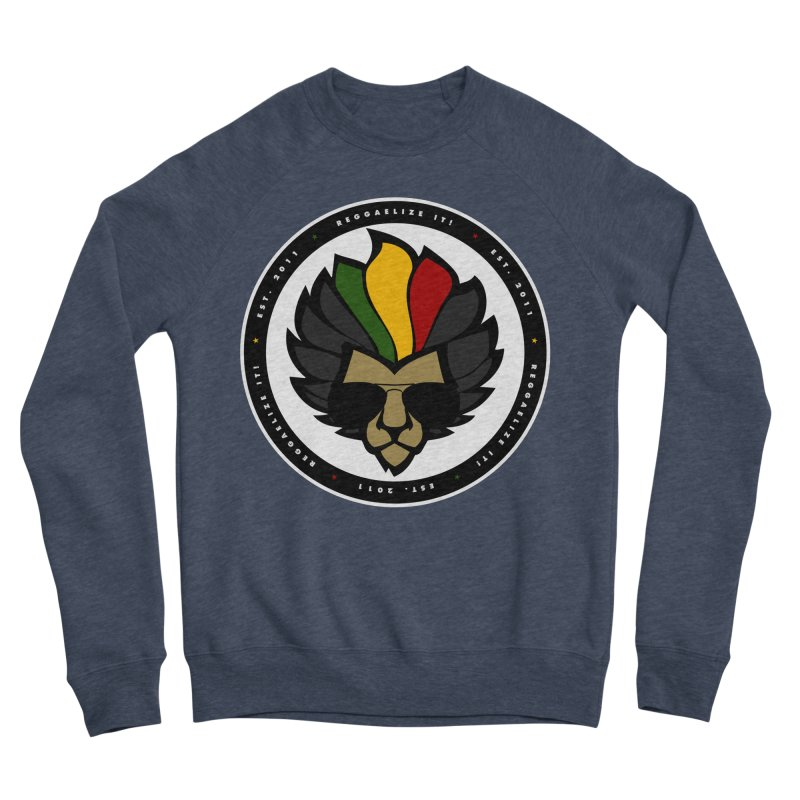 Reggaelize it! Logo Men's Sponge Fleece Sweatshirt by Rasta University Shop