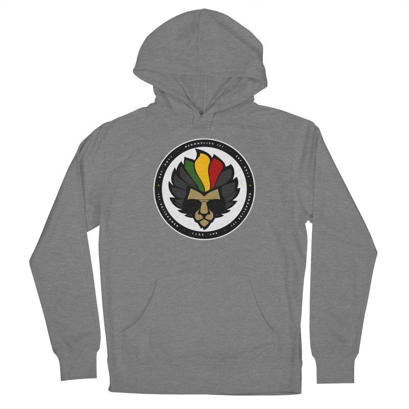 Reggaelize it! Logo Women's Pullover Hoody by Rasta University Shop