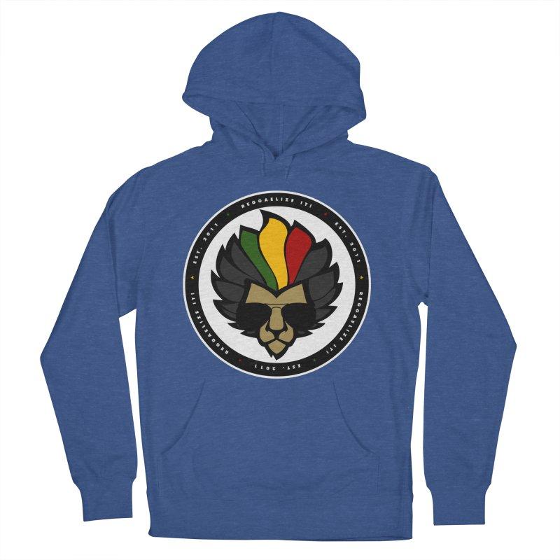 Reggaelize it! Logo Women's French Terry Pullover Hoody by Rasta University Shop