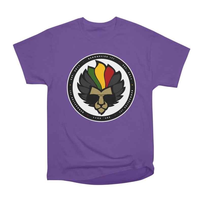 Reggaelize it! Logo Men's Heavyweight T-Shirt by Rasta University Shop