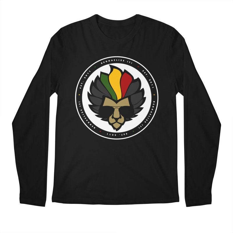 Reggaelize it! Logo Men's Regular Longsleeve T-Shirt by Rasta University Shop