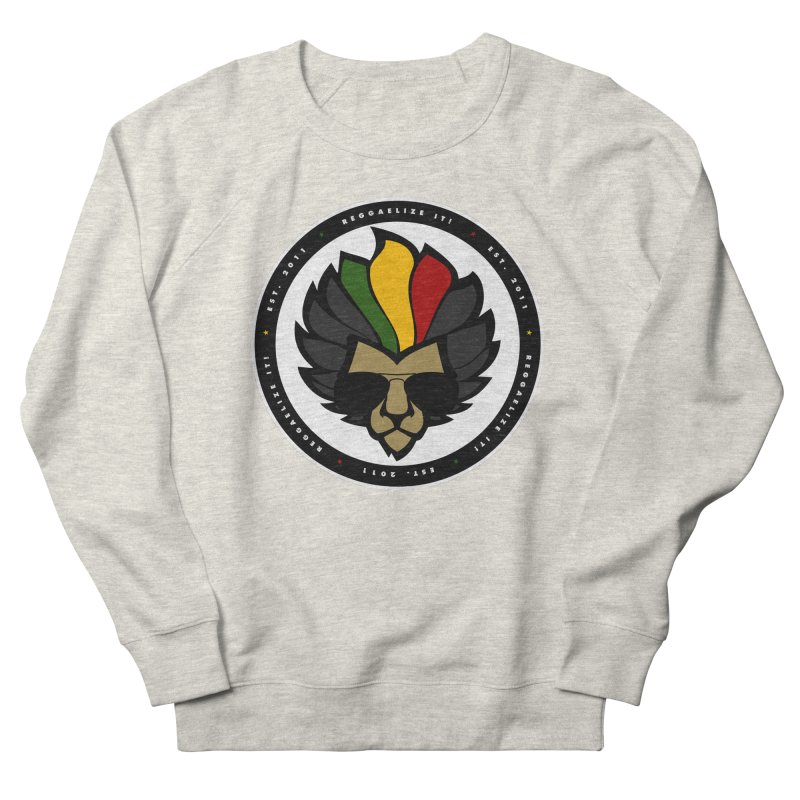Reggaelize it! Logo Women's French Terry Sweatshirt by Rasta University Shop