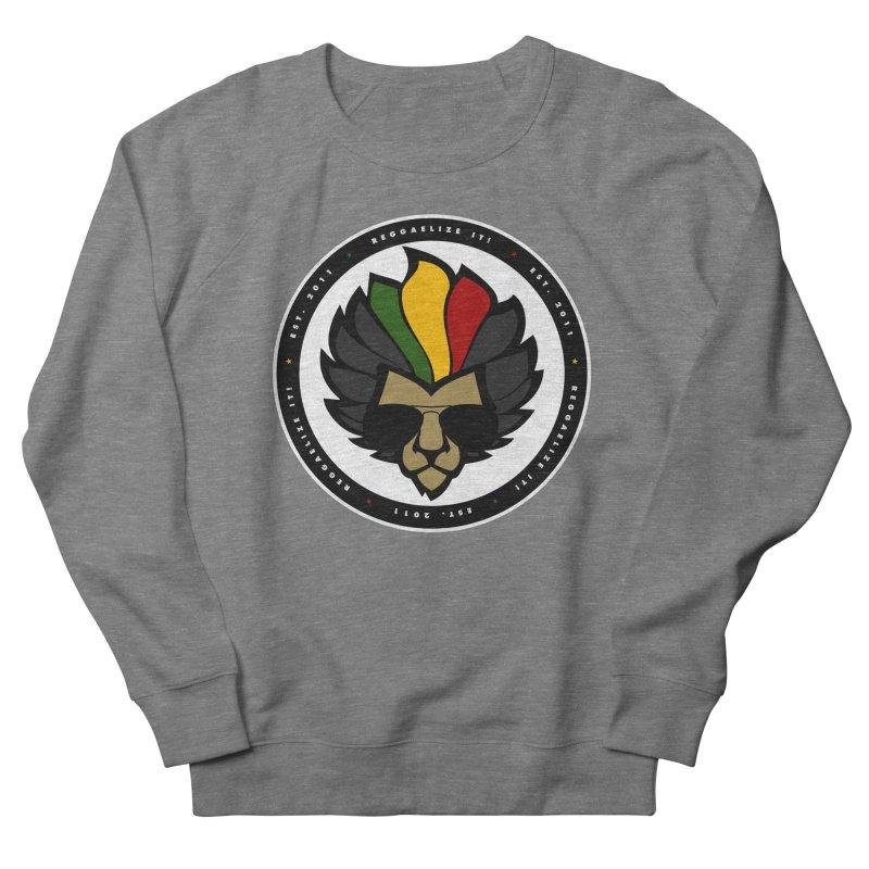 Reggaelize it! Logo Men's French Terry Sweatshirt by Rasta University Shop