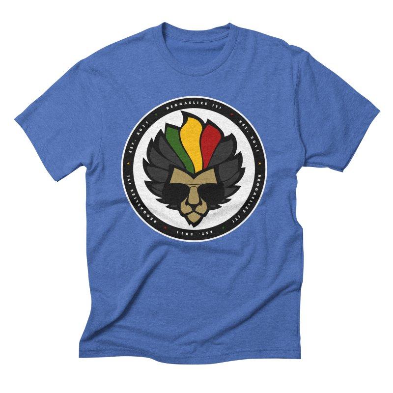 Reggaelize it! Logo Men's Triblend T-Shirt by Rasta University Shop