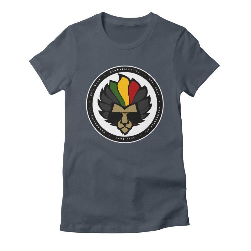 Reggaelize it! Logo Women's T-Shirt by Rasta University Shop