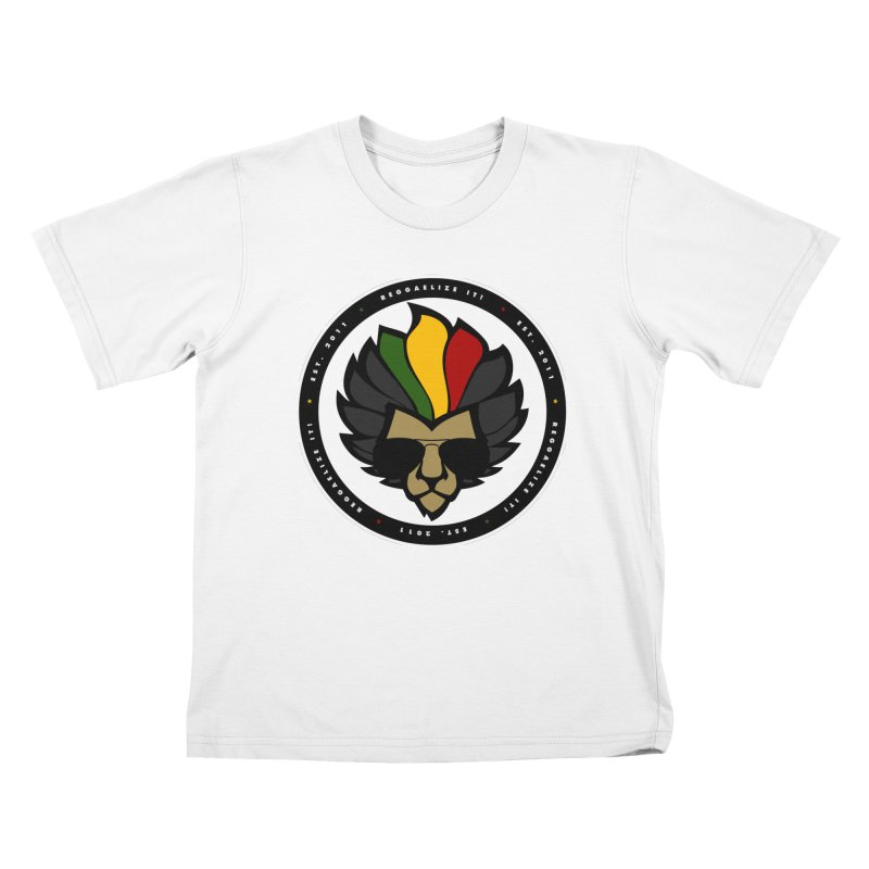 Reggaelize it! Logo Kids T-Shirt by Rasta University Shop