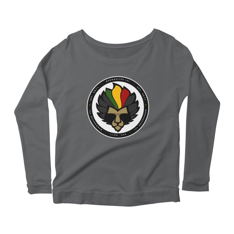 Reggaelize it! Logo Women's Longsleeve T-Shirt by Rasta University Shop