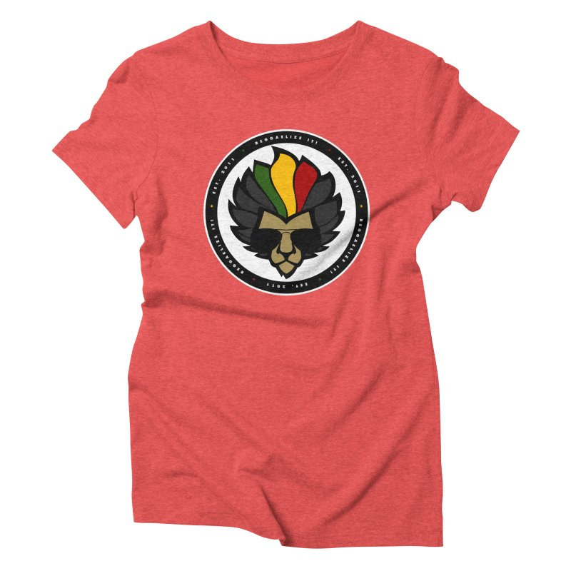 Reggaelize it! Logo Women's Triblend T-Shirt by Rasta University Shop