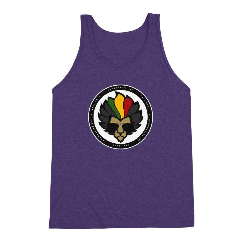 Reggaelize it! Logo Men's Triblend Tank by Rasta University Shop