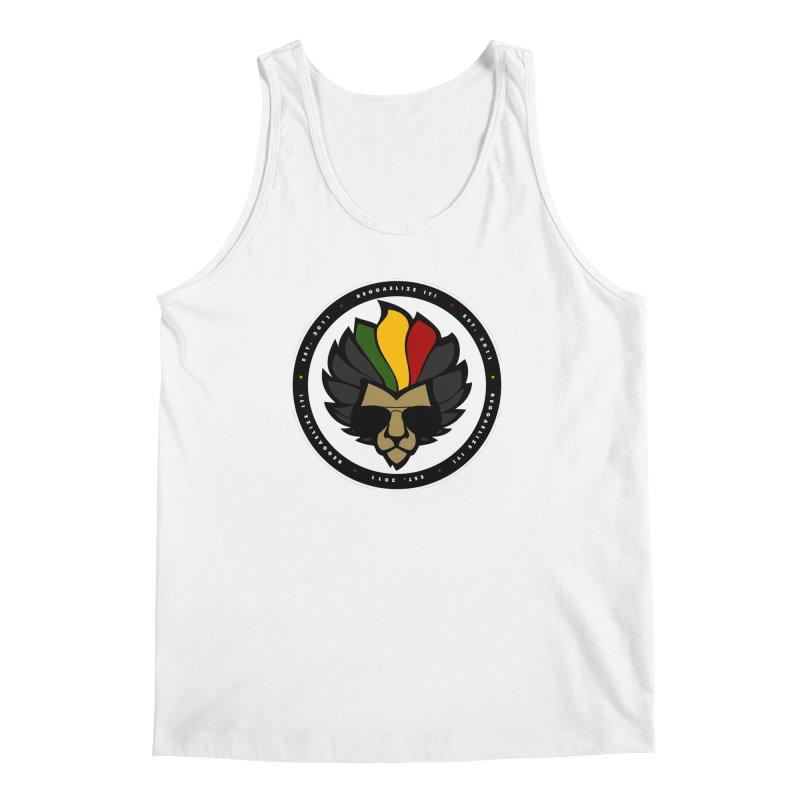 Reggaelize it! Logo Men's Regular Tank by Rasta University Shop