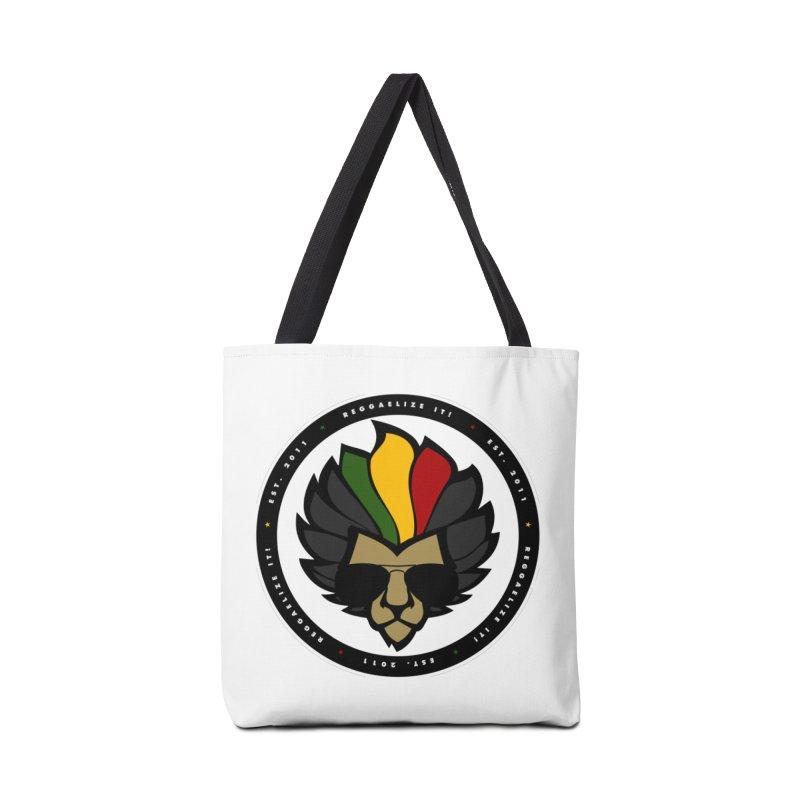 Reggaelize it! Logo Accessories Tote Bag Bag by Rasta University Shop