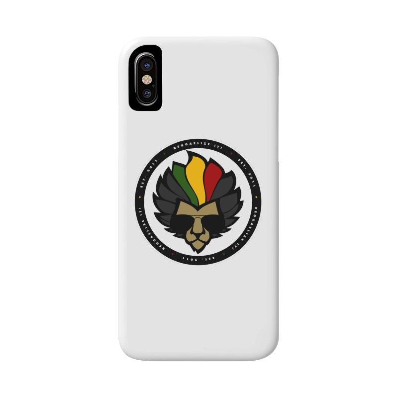Reggaelize it! Logo Accessories Phone Case by Rasta University Shop