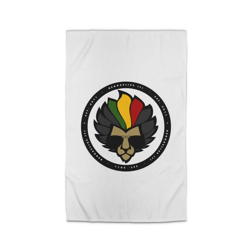 Reggaelize it! Logo Home Rug by Rasta University Shop