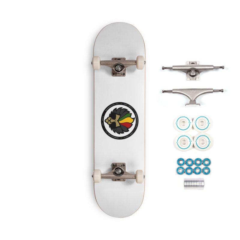 Reggaelize it! Logo Accessories Complete - Basic Skateboard by Rasta University Shop