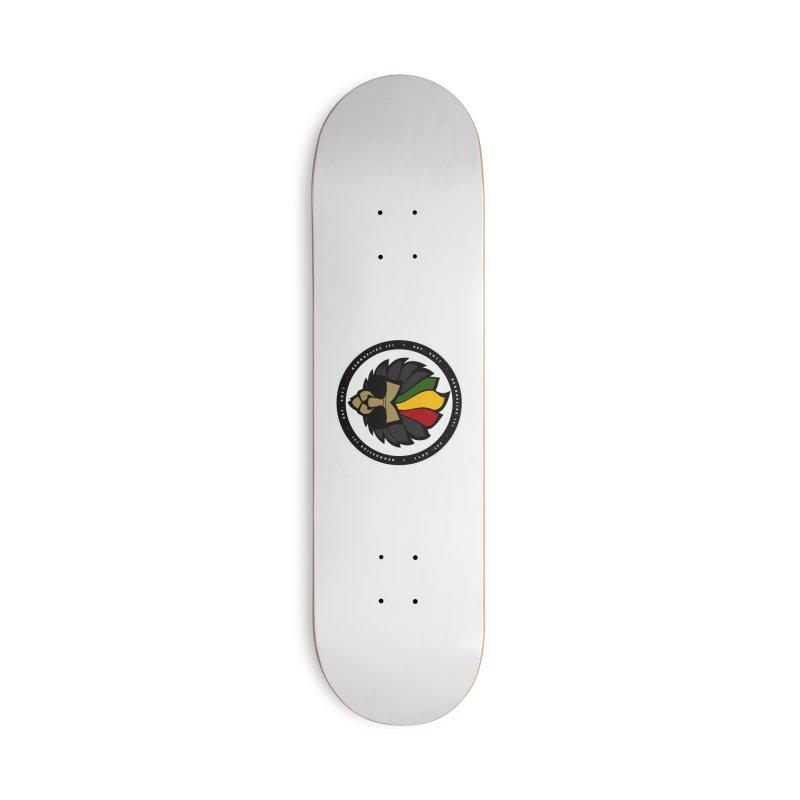 Reggaelize it! Logo Accessories Deck Only Skateboard by Rasta University Shop