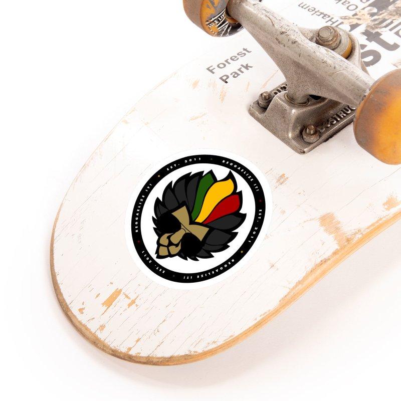 Reggaelize it! Logo Accessories Sticker by Rasta University Shop