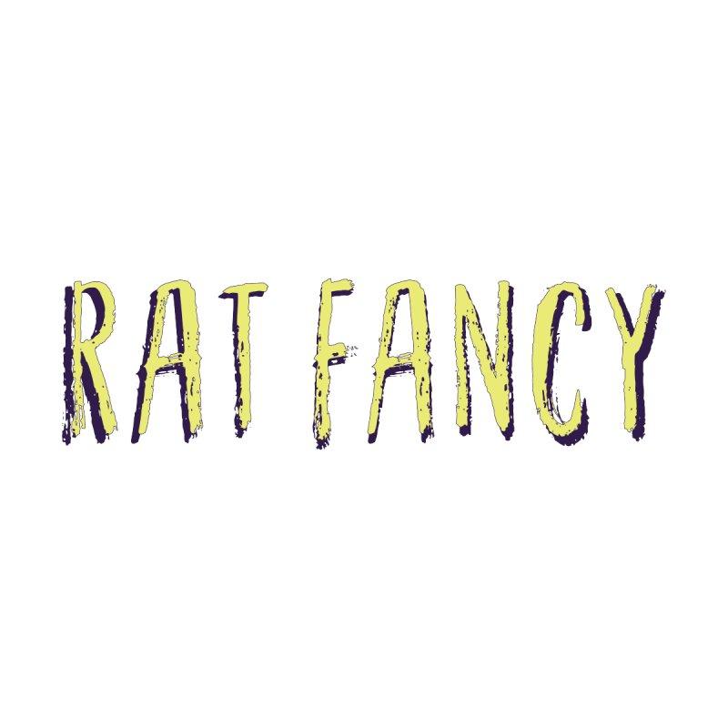 RAT FANCY GREEN LOGO TEE  by RAT FANCY OFFICIAL MERCH