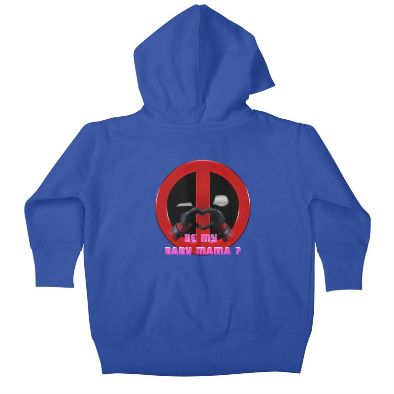 DeadPool Heart H Be My Baby Mama 2   by ratherkool's Artist Shop