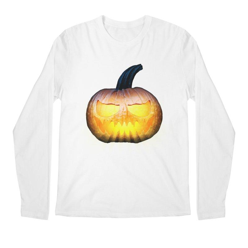 PumpKin 4 Men's Longsleeve T-Shirt by ratherkool's Artist Shop