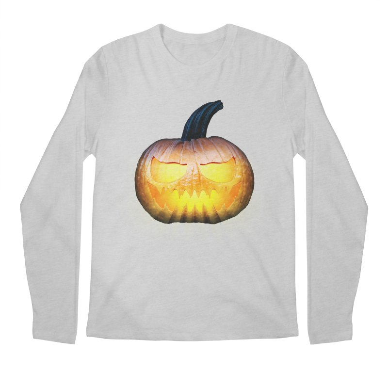 PumpKin 4 Men's Longsleeve T-Shirt by ratherkool's Artist Shop