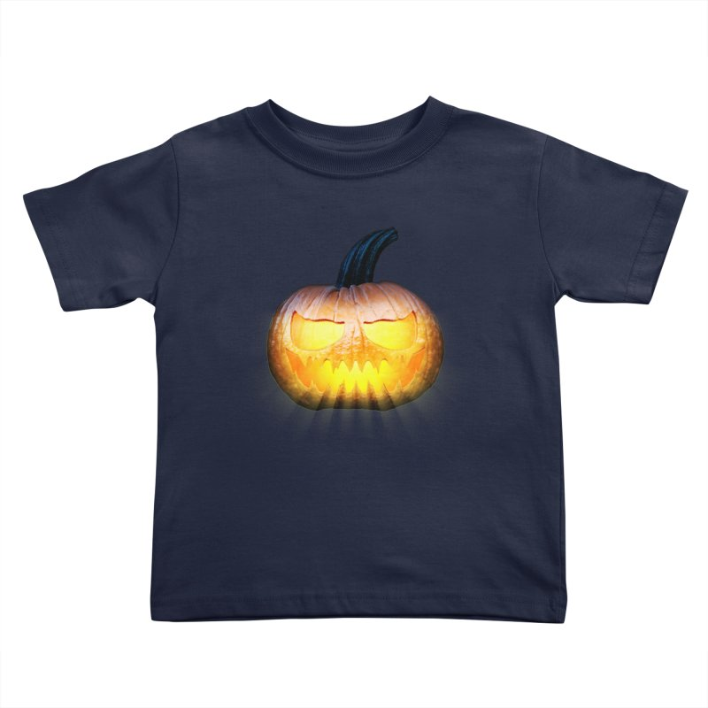 PumpKin 4 Kids Toddler T-Shirt by ratherkool's Artist Shop